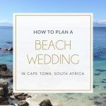Beach weddings in Cape Town