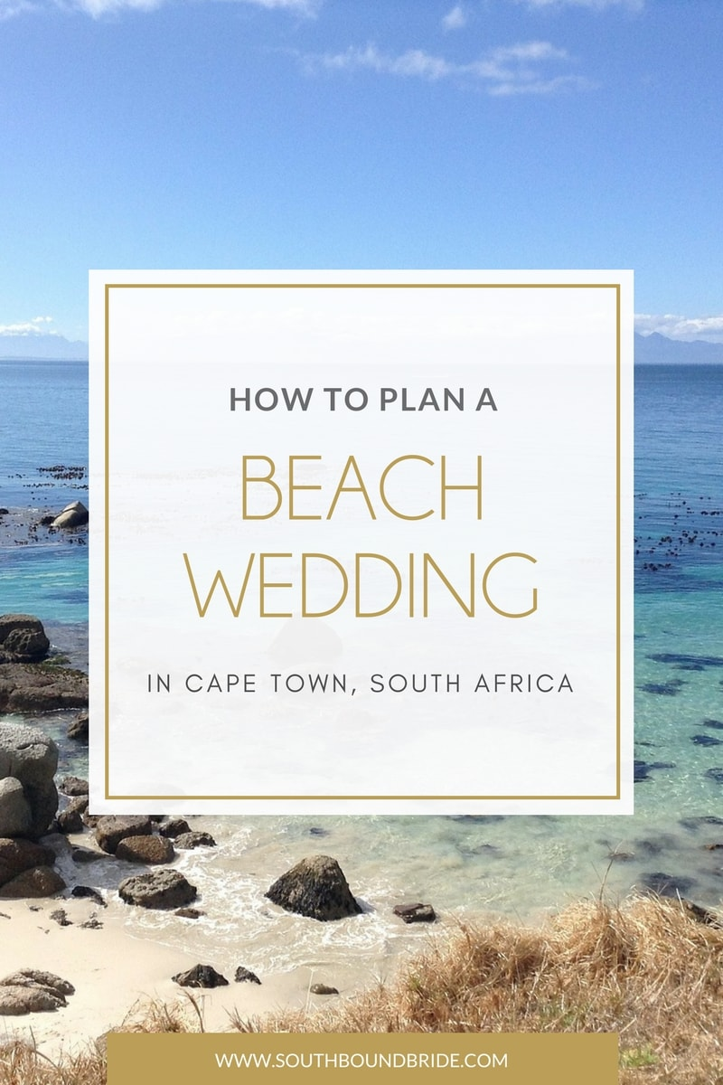 Beach Weddings in Cape Town