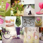 Inspiration Board: Bicycles and tulips