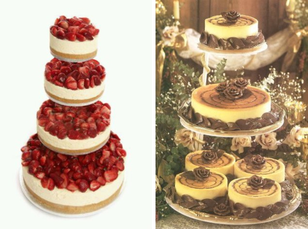 cheesecake flavored wedding cake recipe wedding cake alternatives 12556