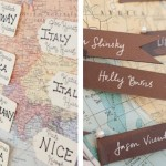 Travel-inspired Wedding Details