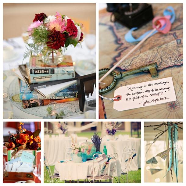 Southboundbride Travel Themed Wedding Details 004 Southbound Bride