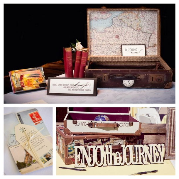 Southboundbride Travel Themed Wedding Details 008 Southbound Bride