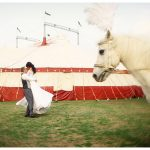 Real Circus Wedding {Michelle & Werner}