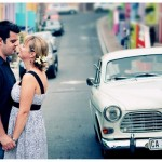 Colourful Bo-Kaap Engagement Shoot