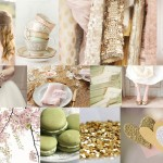 Inspiration Board: Sparkle & Blush