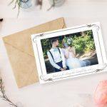 Free Printable Wedding Photo Thank You Cards