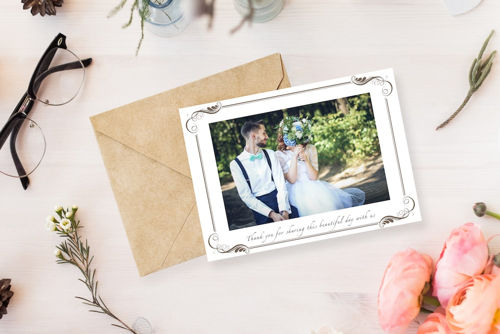 Free Printable Wedding Thank You Cards   SouthBound Bride