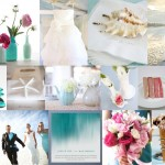Inspiration Board: Aqua & Rose