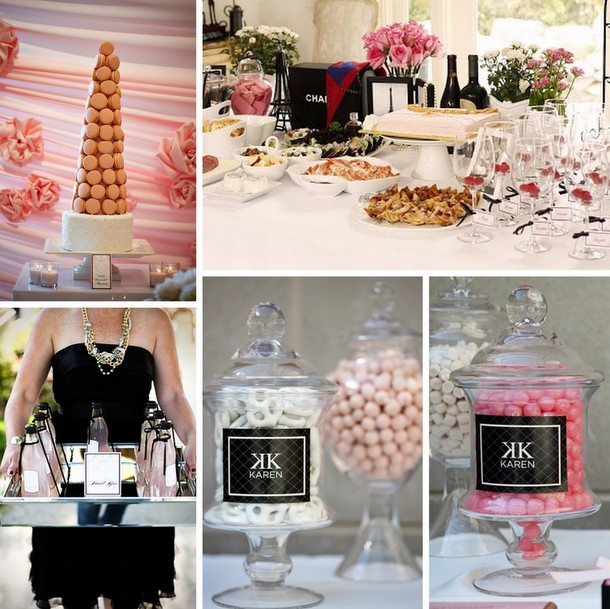 How to Throw a Chanel Themed Bridal Shower | SouthBound Bride