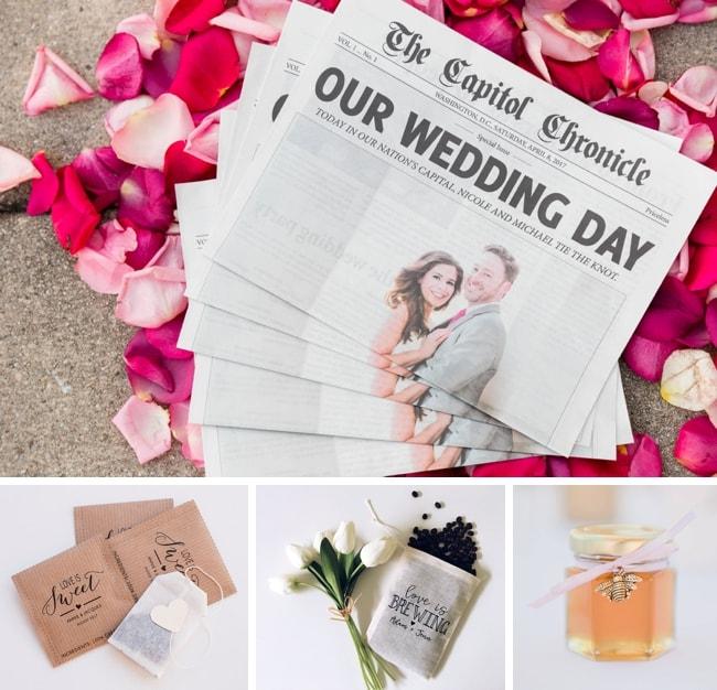 Brunch Wedding Favors