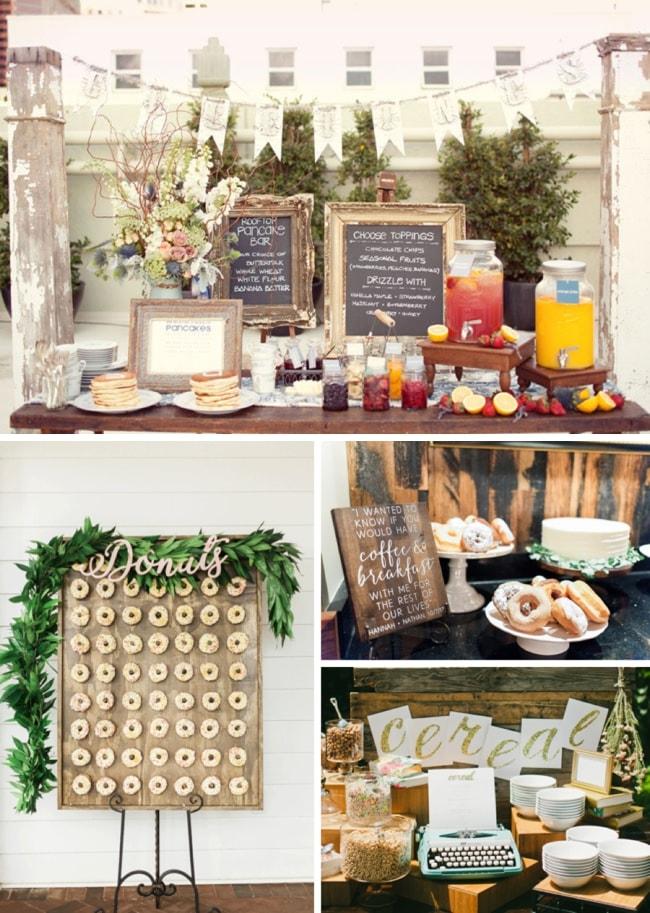 Elegant Wedding Brunch Menu Ideas