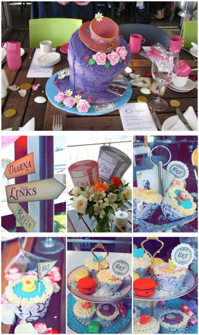 c5d55eca59c Top tips for throwing an Alice in Wonderland bridal shower