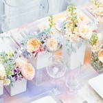 Watercolour Wedding Details