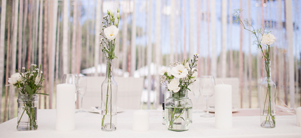 Real Wedding With A Ribbon Backdrop By Kim Du Toit Photography