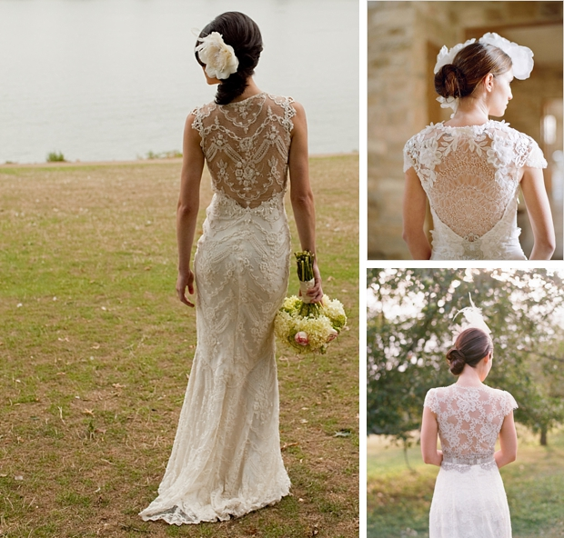 Wedding Dress Illusion Back: Illusion Or Portrait Back Wedding Dresses
