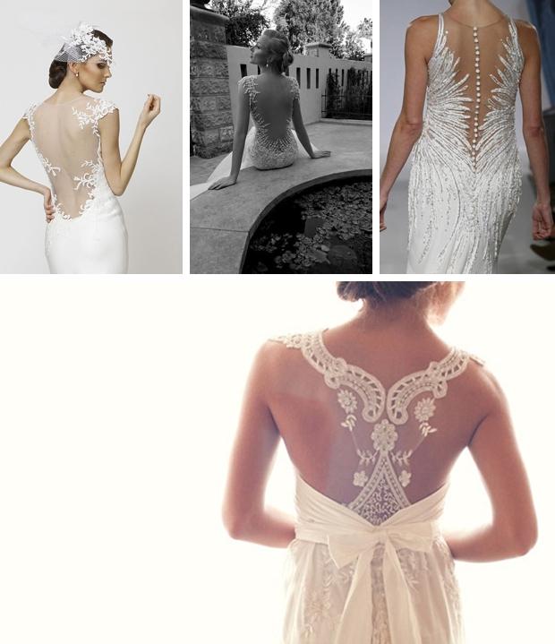 007 Illusion Portrait Back Wedding Dresses Southbound Bride