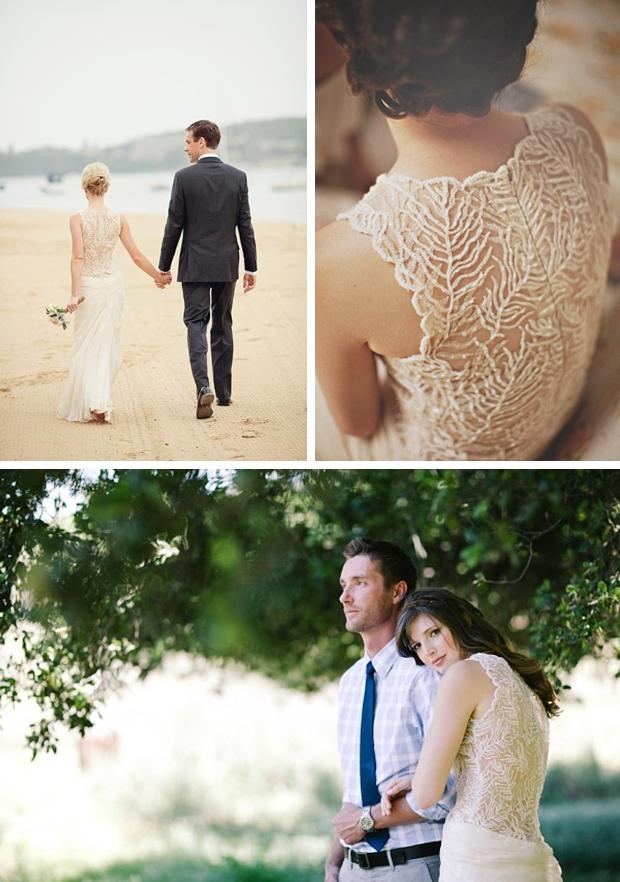 009 Illusion Portrait Back Wedding Dresses Tadashi Shoji