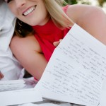 Love Letter Engagement Shoot