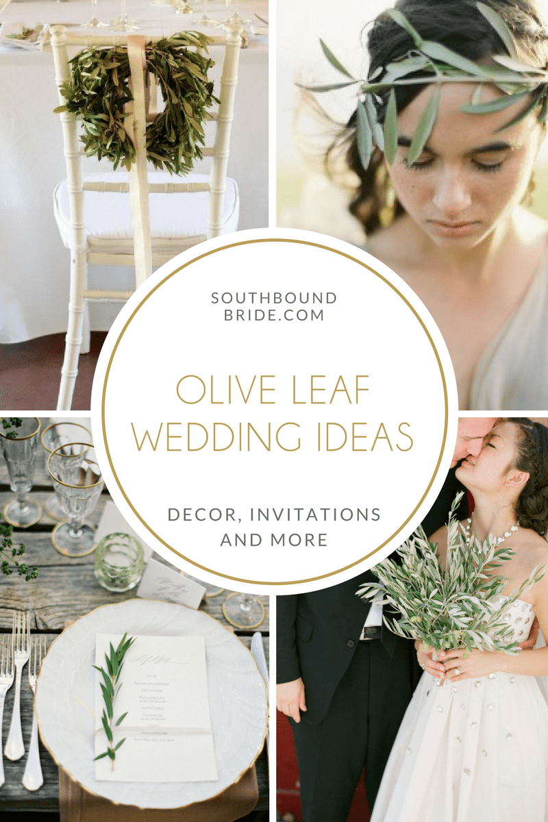 Olive Leaf Wedding Décor