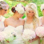 Mismatched Bridesmaid Accessories 3 {Jewellery, Hairpieces, Stockings, Cardigans}