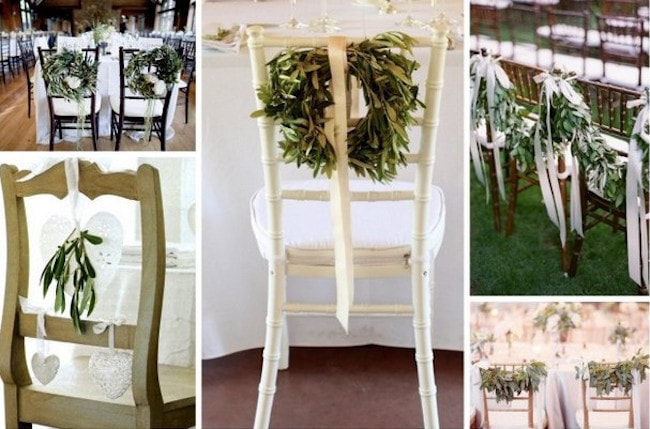Olive Wedding Décor