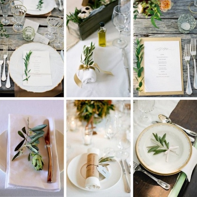 Olive Wedding Theme