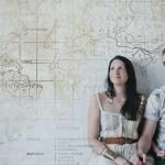 Travel Themed Engagement Shoot