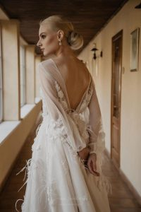 Feather Wedding Dresses
