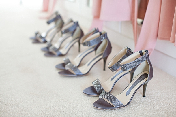 Grey Shoes for Bridesmaid