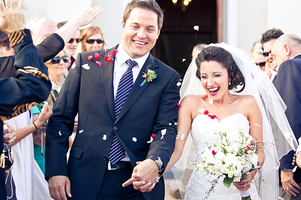 Cherry Red and Navy Wedding by Jaco Le Roux