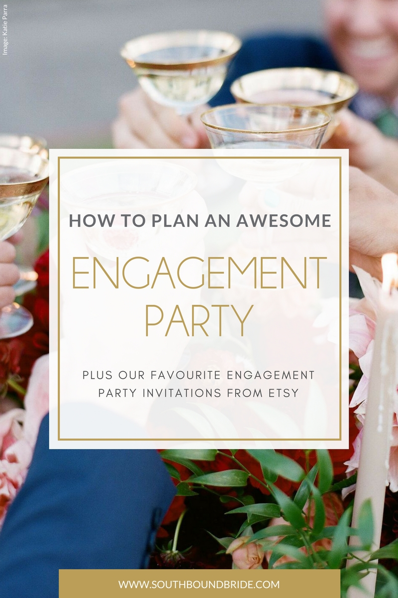How to Plan an Engagement Party