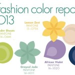 Pantone Spring 2013 Colour Report
