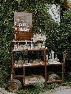 How to Create a DIY Wedding Whisky Bar