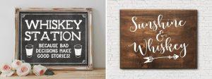 Wedding Whisky Bar Sign