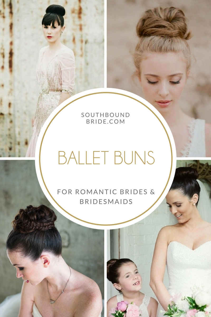 Ballet Buns for Brides