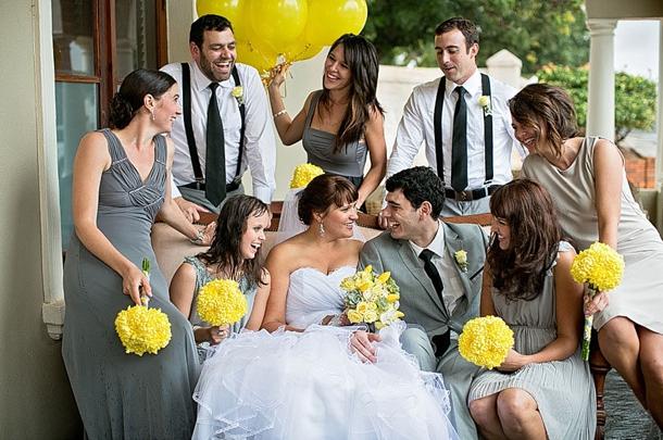 L Amp A009 Southboundbride Shabby Chic Yellow Grey Wedding