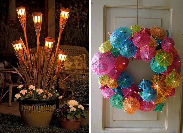 Hawaiian Themed Craft Ideas