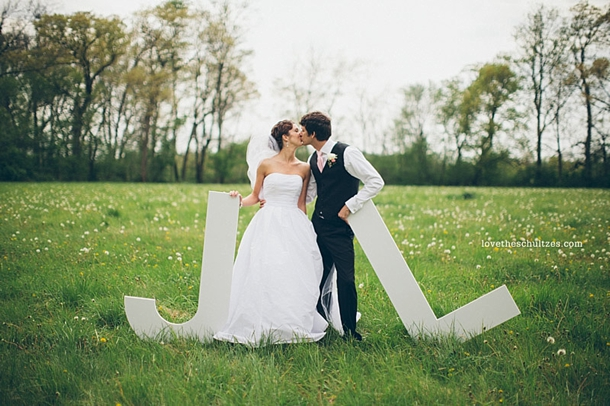 Oversized letters wedding decor for Giant letters for wedding