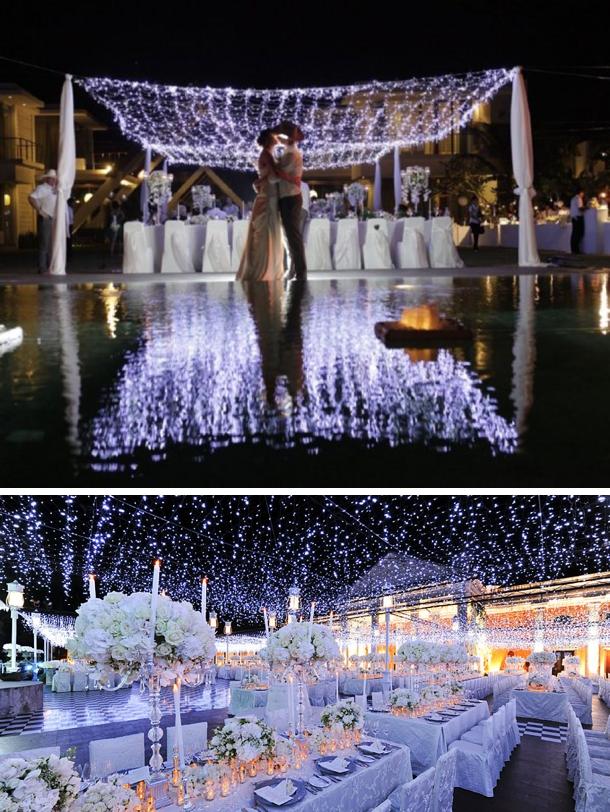 Twinkle Lights For Weddings
