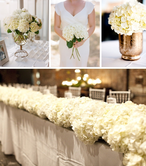 Wedding Flowers With Hydrangea : Southboundbride hydrangeas wedding flowers