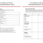 Downloadable Worksheet: Venue Planning