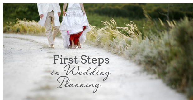 first steps in wedding planning