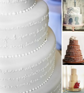 southboundbride-words-wedding-decor-cakes