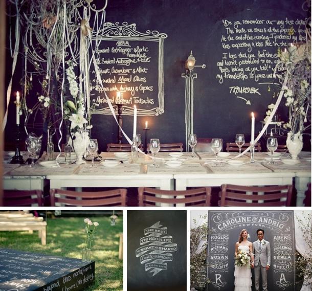 Southboundbride Words Wedding Decor Chalkboard
