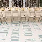 Words as Wedding Decor