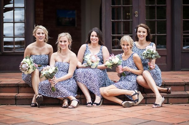 Animal Print Summer Wedding Dresses