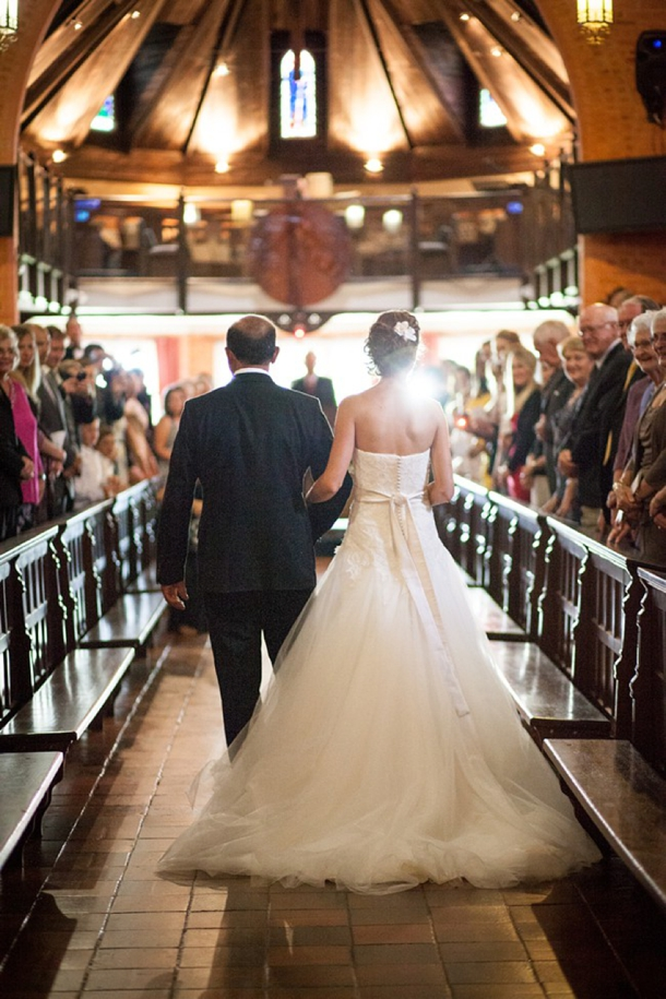 St Anne's Diocesan College Chapel Wedding Ceremony