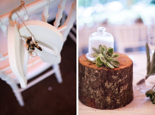 Mini Cloche Succulent Centerpiece
