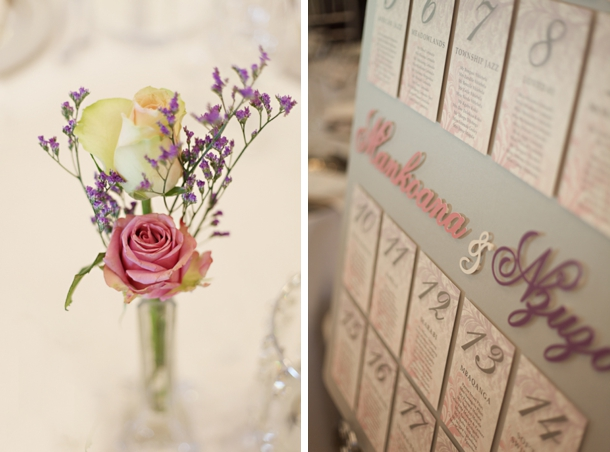 M N004 Real Wedding Pink Purple Andrea Carlyle: Elegant Sophiatown Themed Wedding By Andrea Carlyle